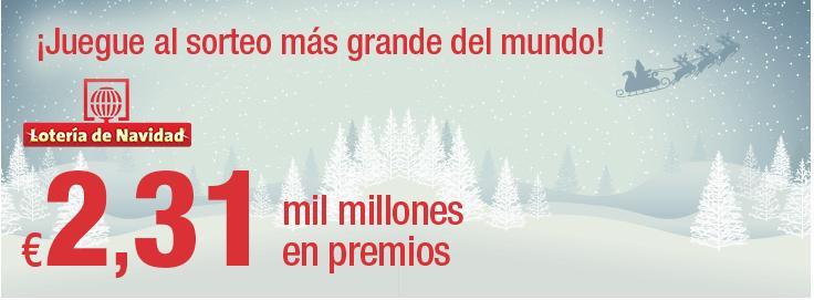 Lotería de Navidad 2017 online